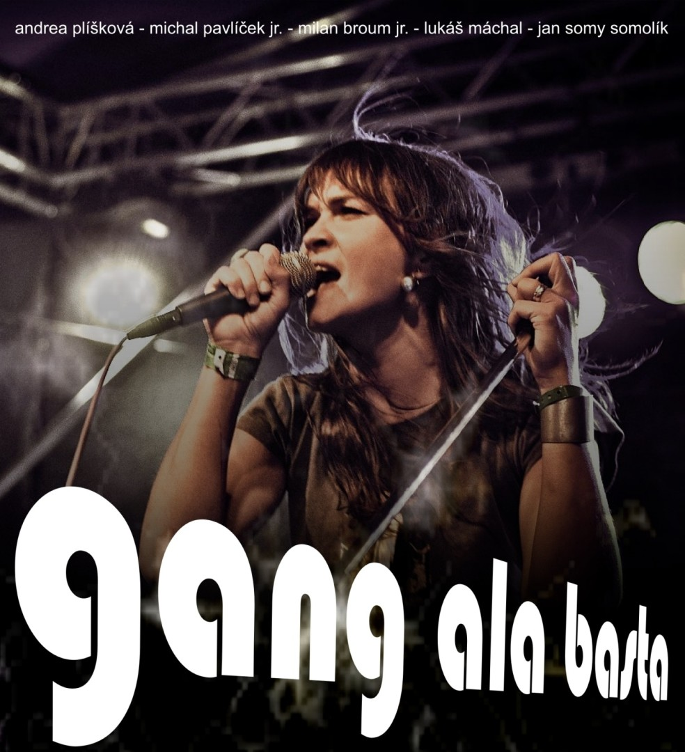 Gang Ala Basta - promo 04 - michal pavlicek, milan broum, andrea pliskova, lukas machal, jan somolik