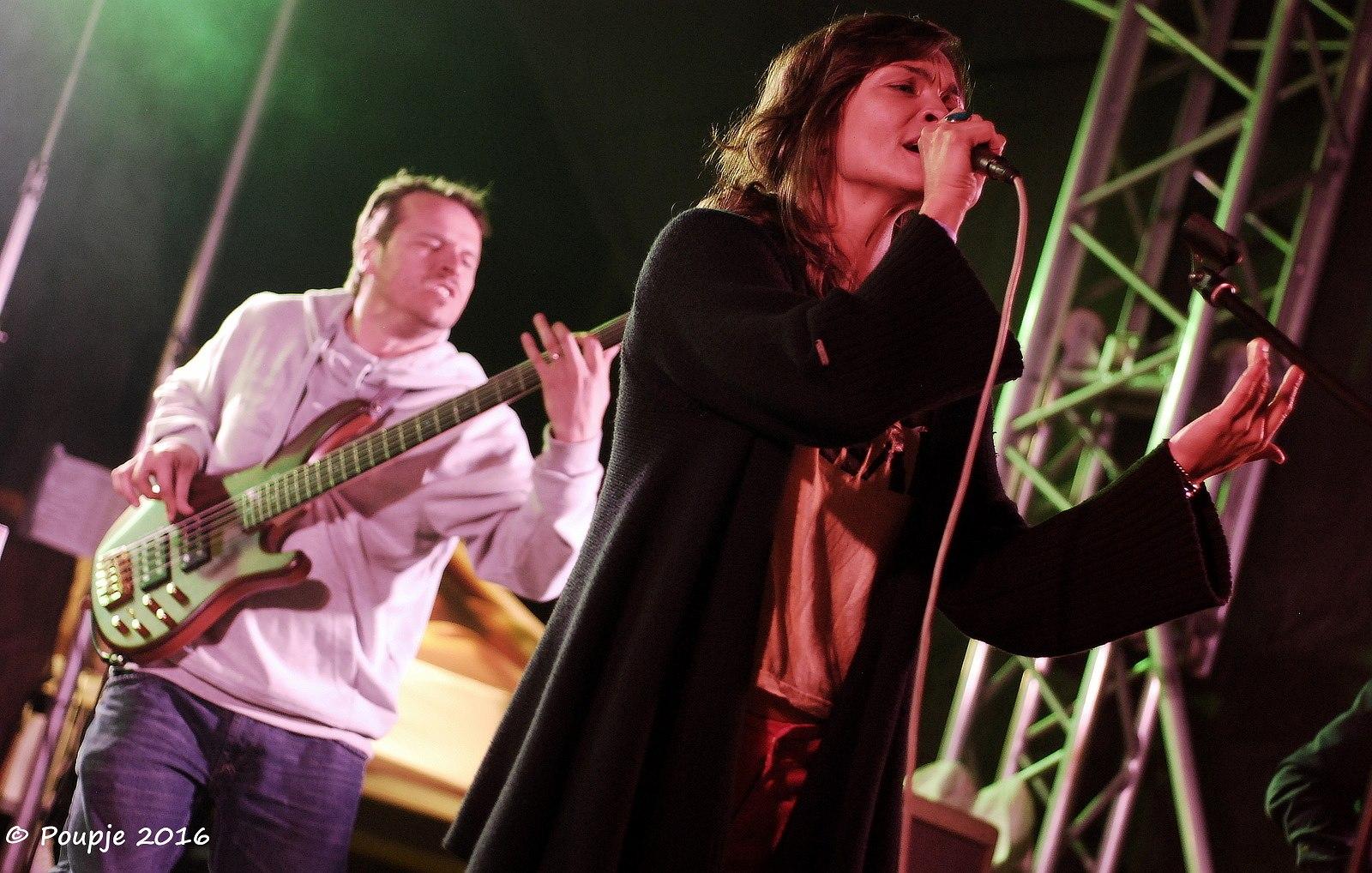 Gang Ala Basta - Třem-Fest 2016 - 06 - Andrea Plíšková, Jan Somolík