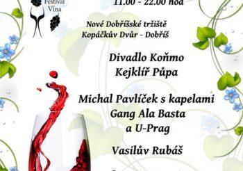 Dobříšský festival vína 2017